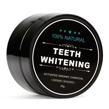 30g 100% Natural Teeth Whitening Whitener Activated Organic Charcoal Powder Polish Teeth Clean Strengthen Teeth Health Care