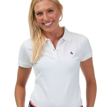White Women's Polo Shirt