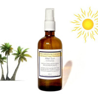 After Sun // Sunburn Relief Spray // Soothing Aloe Vera // Peppermint & Lavender Essential Oils // 100% Natural // Vegan