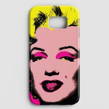 Andy Warhol Marilyn Monroe Pop Art Iconic Colorful Superstar Cute Samsung Galaxy Note 8 Case