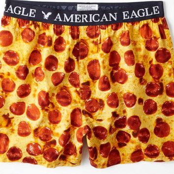AEO Men's Pepperoni Boxer (Yellow)