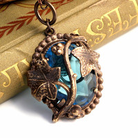 Great Vines - Arts and Crafts Revival Hand Rendered Necklace