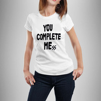 you complete mess me shirt luke hemmings shirt 5sos tshirt 5 seconds of summer t