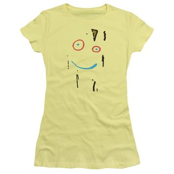 Ed Edd N Eddy - Plank Face Short Sleeve Junior Sheer