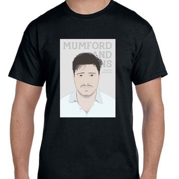 Mumford And Sons Marcus Mumford Vektorrize  Mens T Shirt