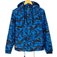 Softshell Camouflage Windbreaker