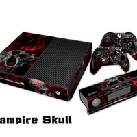 ON SALE HOT Protective Vinyl Skin Decal Cover for Microsoft Xbox One with Console Sticker Skins 0053 = 1928072708