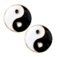 YIN AND YANG EARRINGS - Default Title