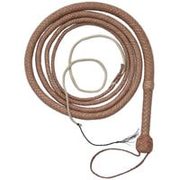 David Morgan Bullwhip, 10 ft., Natural Tan, the Indiana Jones Bullwhip