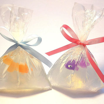 20 Pet Fish in a Bag Baby Shower Favors - Wedding Favor, Tropical Theme, Underwater Theme, Carnival theme, Fish Theme, UNSCENTED