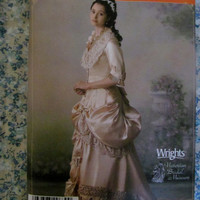 UnCut Simplicity Sewing Pattern, 4244! 2 sizes to choose from, 6-12 or 14-20, Bridal/Wedding Dresses, Formal Gowns, Victorian Dress