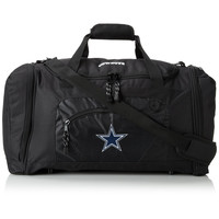 Dallas Cowboys NFL Roadblock Duffle Bag (Black)