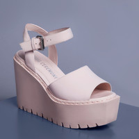 Opening Ceremony Grunge Wedge Sandals - WOMEN - Footwear - Opening Ceremony - OPENING CEREMONY