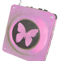 Butterfly Radio and Cell phone charger
