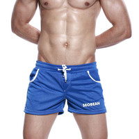 Summer Men Casual Outdoors Permeable Pants Shorts [6544235011]