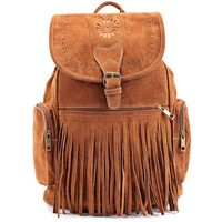 Fringe Design Women's Backpack