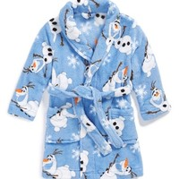Toddler Boy's Disney 'Frozen' Olaf Robe
