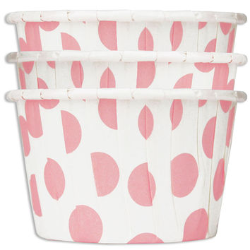 Pink Jumbo Dot Nut Cups