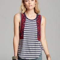 Free People Tank - Wear Your Sparkle | Bloomingdales's
