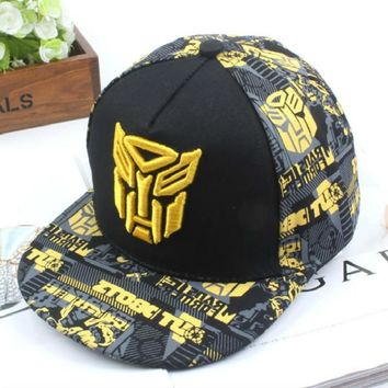 Trendy Winter Jacket 2019 New Embroidery Transformer Cap Super Hero Baseball Caps Kids Hats Boy Girls Hip Hop Hat K-pop Hats Snapback Caps Bts La Cap AT_92_12