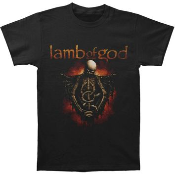 Lamb Of God Men's  Torso T-shirt Black