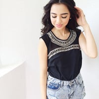 Istanbul Top- Blk