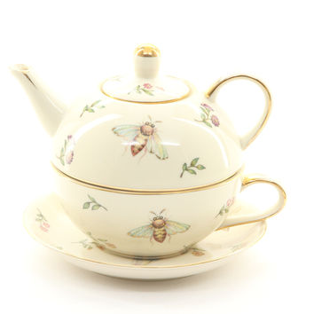 Burton & Burton Morning Meadow Teapot Duo