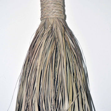 Wall Decor, Decorative Broom, Patio Decor, Porch Decor, Home And Garden, African Craft, African Broom