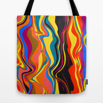 African Heat Tote Bag by Matthias Hennig