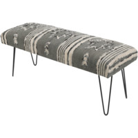 Batu Bench ~ Gray