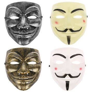 Halloween Masks Fawkes Face Masks Masquerade Costume Cosplay Parties Accessories