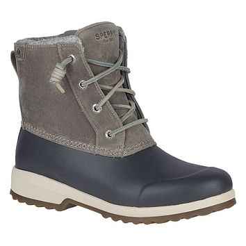 Women's Maritime Repel Boot in Grey by Sperry