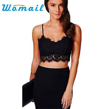 WOMIAL Delicate Hot! Summer Style Fashion Lady Sexy Womens Strappy Crop Top Tank Bustier Bra Corset Vest