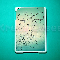 iPad mini case - Young in Infinity iPad mini cover for iPad mini