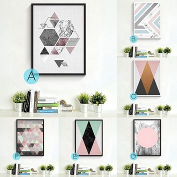 1 Pc Modern Abstract Wall Art Decoration DIY Bedroom Living Room Decoration Painting Watercolor Painting