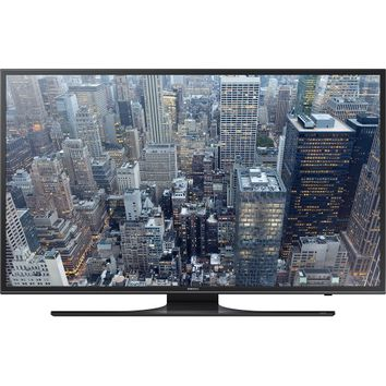 "Samsung - 50"" Class (49.5"" Diag.) - LED - 2160p - Smart - 4K Ultra HD TV - Black"