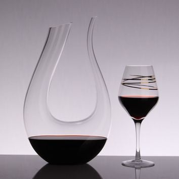 Big Decanter 1500ML Handmade Crystal Red Wine Decanter