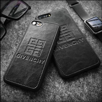 Givenchy print phone shell phone case for Iphone 6/6s/6p/7p/7/8/8p/x
