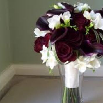plum wedding bouquets - Google Search