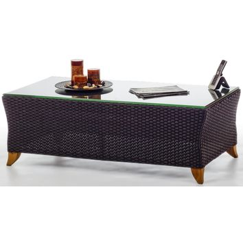 All Things Cedar Rattan Coffee Table