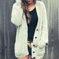 Covet Cable Cardigan