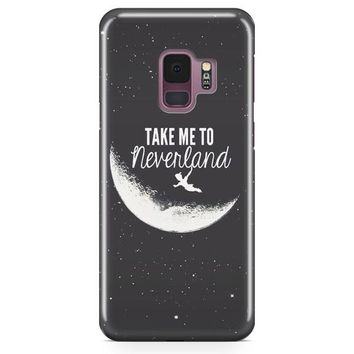 Peter Pan, Take To Me Neverland Samsung Galaxy S9 Case | Casefantasy