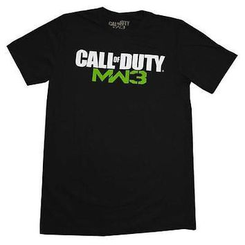 Call Of Duty Modern Warfare 3 officially Licensed Adult Men's Tee Shirt