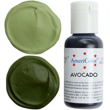 Avocado Gel Paste Food Color