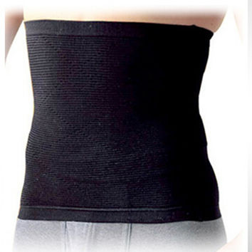 Body Shaper Men's Slim Waist Trimmer Belt Corset Beer Belly Wrap Fat Burner SM6