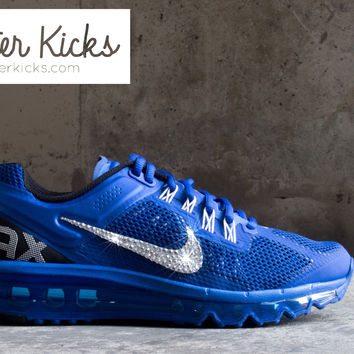 Women s Nike Air Max 360 Running Shoes By Glitter Kicks - Customized With  Swarovski Cr c5ade0da5437