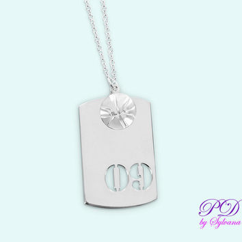 Basketball Necklace for Boys, Sport Number Tag Dog, Basketball Charm, Birthday Gift Ideas for Boys, Sport Pendant, Boys Gift, Kids Necklace