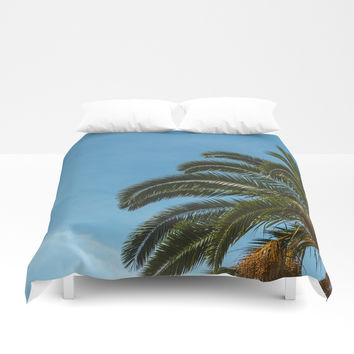 Tropical landscape Duvet Cover by VanessaGF