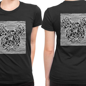 Joy Division Mickey Mouse 2 Sided Womens T Shirt
