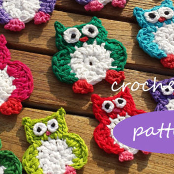 pattern crocheted owl / English pattern